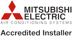 Mitsubishi Electric Air Conditioning Registered Installer
